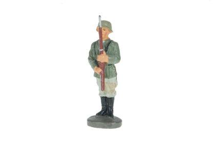 Elastolin Soldat stillgestanden