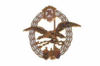Orden KuK Monarchie Miniatur Seeflieger-Beobachter-Abzeichen