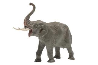 TIPPLE TOPPLE Elefant stürmend Rüssel oben