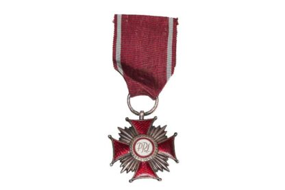 ORDEN Medal Silver Cross of Merit Polen