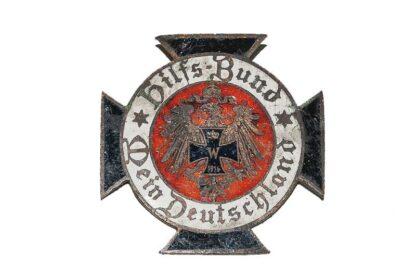 Patriotisches Abzeichen Hilfs-Bund Mein Deutschland 1914