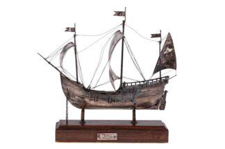 Pinta Schiff 800 Silber Christoph Kolumbus