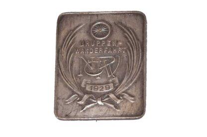 RADFAHRER Abzeichen Gruppen Wanderfahrt 1929 NÖRV
