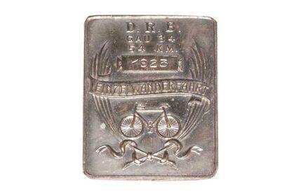 RADFAHRER Abzeichen Quer d. Marchfeld 1931 NÖRV