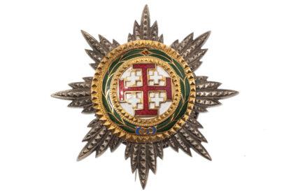 Ritterkreuz Bruststern Orden vom heiligen Grab zu Jerusalem