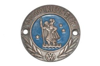 Volkswagen 100000 Km Plakette