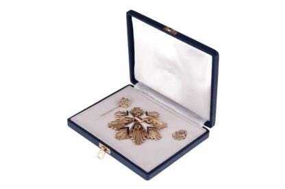 Grosses goldenes Ehrenzeichen Ärztekammer Österreich + Miniaturen