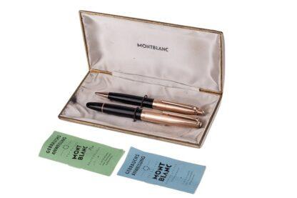 MONTBLANC 644 Schreibset Füllfeder+Bleistift im Originaletui incl. Anleitungen