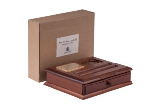 The Parker Duofold Collection Collectors Box Timber Desk Set