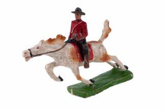 Tipple Topple Kanadier auf gallopierendem Pferd