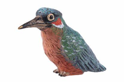 Bronzefigur Eisvogel