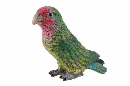 Bronzefigur Papagei