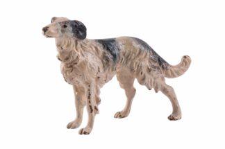 Bronzefigur Windhund