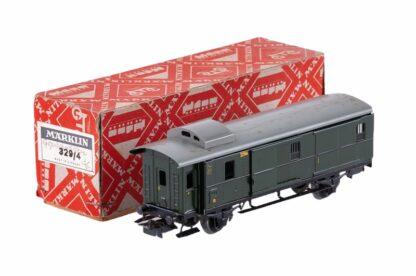 Märklin H0 329/4 Gepäckwagen OVP