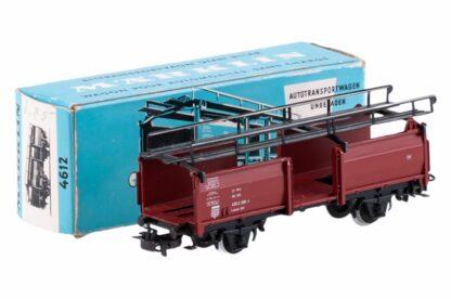 Märklin H0 4612 Autotransportwagen unbeladen DB 433 2 001-7 OVP