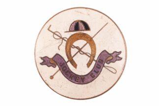 Pferderennen Pin Badge Abzeichen Jockey Club