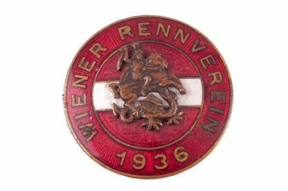 Pferderennen Jockey Pin Badge Abzeichen Wiener Rennverein 1936