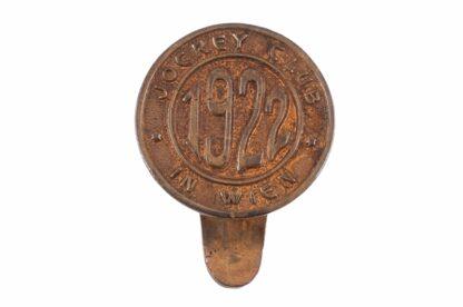 Pferderennen Pin Badge Abzeichen Jockey Club in Wien 1922