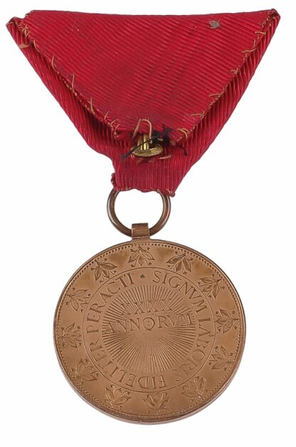 Ehren Medaille für 40 Jahre Dienst00002