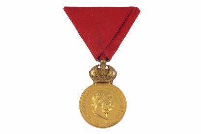 Millitär Verdienst Medaille MVM Signum Laudis2