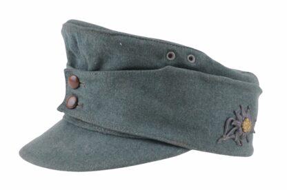 Deutsche Wehrmacht Heer Gebirgsjäger Feldmütze M42 12