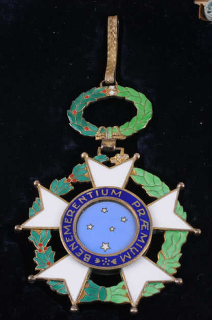Grand Officer's Breast Badge and Cross of the Southern 5