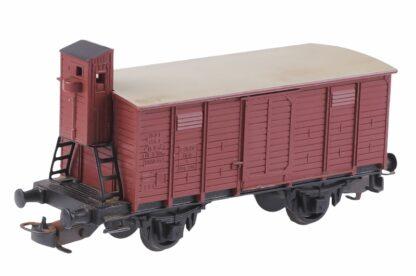 Kleinbahn 332 Güter Waggon mit Bremser Haus 3