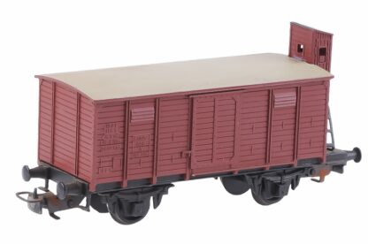 Kleinbahn 332 Güter Waggon mit Bremser Haus 4