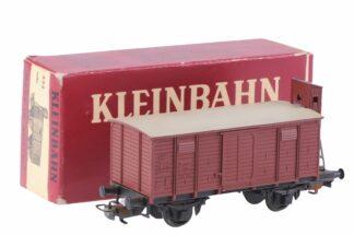 Kleinbahn 332 Güter Waggon mit Bremser Haus 5