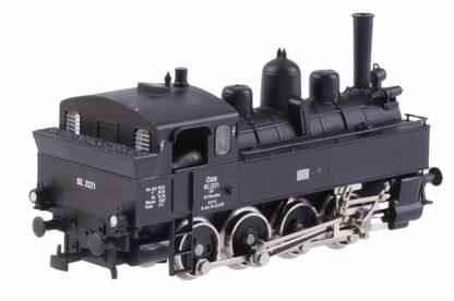 Kleinbahn Nebenbahnlokomotive mit Brüßmannschlot ÖBB 92.2271 3