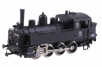 Kleinbahn Nebenbahnlokomotive mit Brüßmannschlot ÖBB 92.2271 4