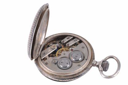 Silberne Taschenuhr mit Adler13