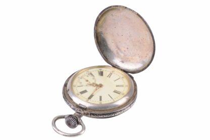 Silberne Taschenuhr mit Adler9