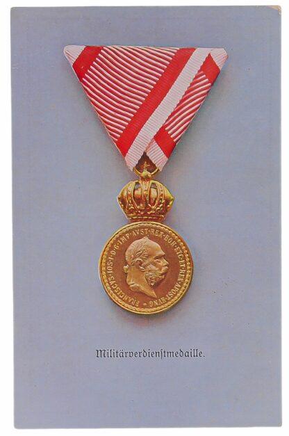 Ansichtskarten AK Österreichische Orden aus der Monarchie11