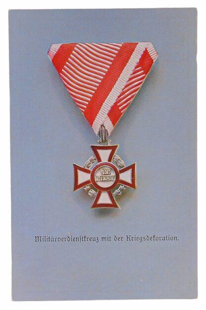 Ansichtskarten AK Österreichische Orden aus der Monarchie12