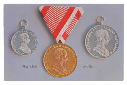 Ansichtskarten AK Österreichische Orden aus der Monarchie13