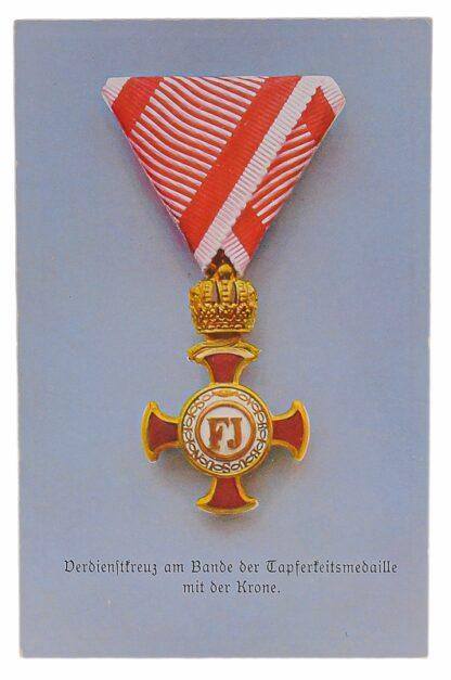 Ansichtskarten AK Österreichische Orden aus der Monarchie14