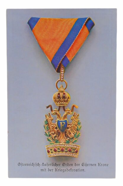 Ansichtskarten AK Österreichische Orden aus der Monarchie15