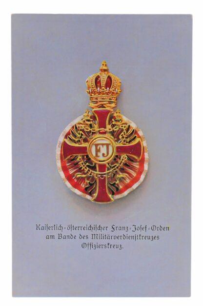 Ansichtskarten AK Österreichische Orden aus der Monarchie16