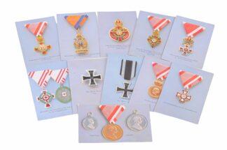 Ansichtskarten AK Österreichische Orden aus der Monarchie18