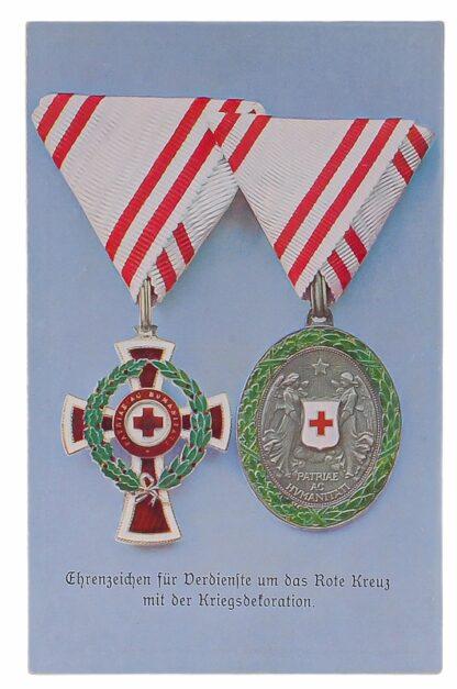 Ansichtskarten AK Österreichische Orden aus der Monarchie8
