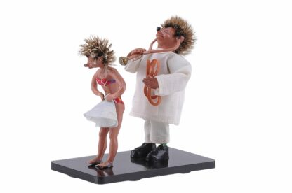 Arzt mit Patientin Peter Mecki Figur2
