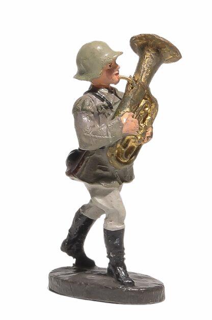 Bläser Nr. 2 mit kleinem Bass Elastolin Soldat2