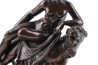 Bronze Figur Ariadne auf den Panther nach Johann Heinrich von Dannecker 1