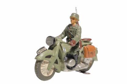 Elastolin Soldat Gradmelder Motorradfahrer1