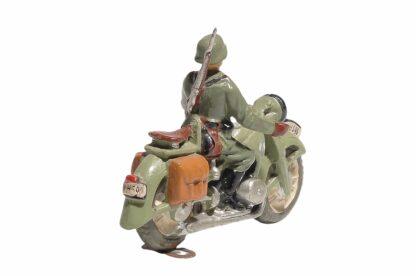 Elastolin Soldat Gradmelder Motorradfahrer3