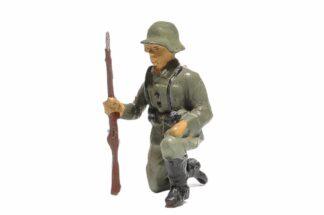 Elastolin Soldat Kniend mit Gewehr1