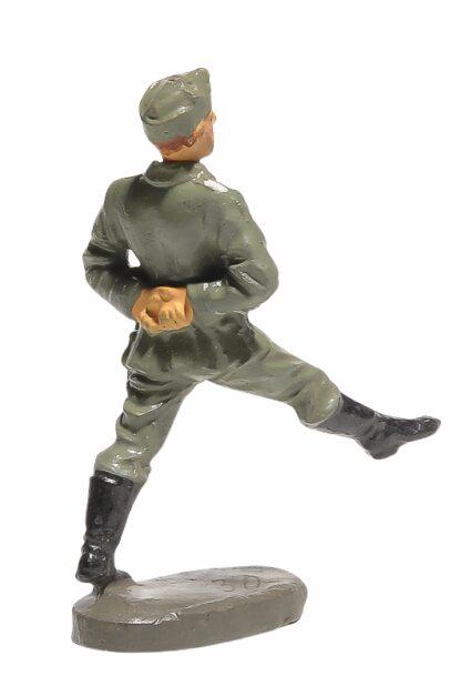 Elastolin Soldat Rekrut Nr 2 im Stechschritt2