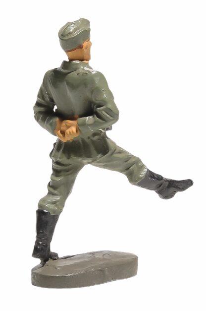 Elastolin Soldat Rekrut Nr 3 im Stechschritt2