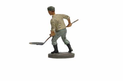 Elastolin Soldat Rekrut Schippend mit Schaufel2